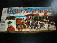 Tales of Wells Fargo Game with Dale Robertson- Milton Bradley Western Stagecoach