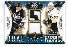 09-10 SP Game Used Crosby/Malkin Dual Authentic Fabrics Patches #'d/25: Penguins