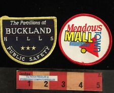 2 Mall Cop Security Patch Meadows Town Mall IL Pavilions Buckland Hills CT 59Z1
