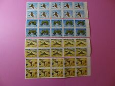 Stamps CHINA * SC 3484-87 * MNH * Blocks of 10 * Merops Philippinus * 2003