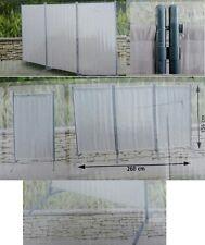 Raumteiler Trennwand Paravent 3tlg Umkleide Sichtschutz spanische Wand Metall