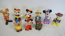 DISNEY FIGURINES VINTAGE JAPAN MINNIE MOUSE MICKEY MICE CINDERELLA DONALD DUCK +