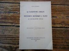LORRAINE LE PATRIOTISME LORRAIN MOUVEMENT HISTORIQUE A NANCY AU 19EME MAROT 1936