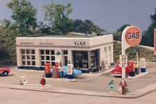 City Classics-N Scale -- #401 Crafton Avenue Service Station Kit - NIB