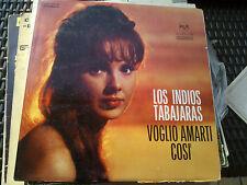 """LP 12"""" LOS INDIOS TABAJARAS VOGLIO AMARTI COSI RCA ITALY COPERTINA EX VINILE EX+"""