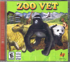 Zoo Vet (PC, 2004, Legacy Interactive) - Free USA Shipping!