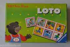 PETIT OURS BRUN Loto Card Game 2007 Ravensburger (incomplete)