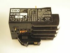 IMO U12/16E Thermal Overload Relay Single Phase Protection 0.8-1.2A MBJ1-07