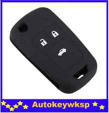 Silicone remote car key cover case for Holden Cruze Chevrolet RG colorado
