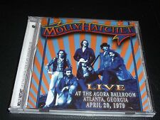 CD.MOLLY HATCHET LIVE 79 AT AGORA BALLROOM .SOUNDBOARD RECORDING.NEUF.LIMITEE