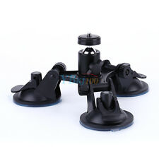 Triple Suction Cup Mount Tripod Holder With Screw For Gopro Hero2 3 3+ 4 Cameras