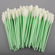 100 PCS Small Foam Tipped Cleaning Swabs swab for Printer optical camera lens