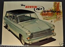 1962-1963 Austin A60 Countryman Sales Brochure Folder Excellent Original