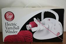 BOYE Electric Yarn Ball Winder NIB New