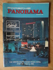 PANORAMA Official Magazine Brochure of the Porsche Club of America - 1984/11 Edn