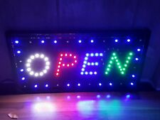 SUPER BRIGHT LED OPEN SIGN FOR SHOP FRONTS/WINDOWS