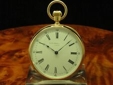 PATEK PHILIPPE 18kt 750 GOLD OPEN FACE TASCHENUHR