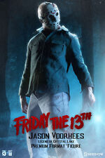 SIDESHOW Friday 13th III Legend Crystal Lake JASON VOORHEES Premium Statue 3 PF