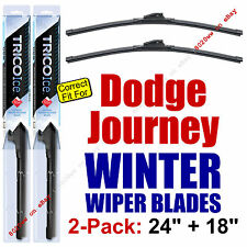 WINTER Wipers 2-Pack Premium Grade - fit 2009-2010 Dodge Journey - 35240/35180