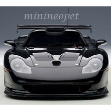 AUTOart 89770 1997 PORSCHE 911 GT1 PLAIN BODY VERSION 1/18 DIECAST MODEL BLACK