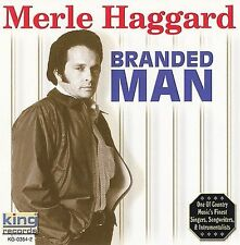 Branded Man [King Compilation] by Merle Haggard (CD, Oct-2003, King Special)