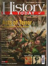 HISTORY TODAY MAGAZINE - Volume 57 (12) December 2007 'Acts of Terror'