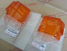 Toyota Land Cruiser 70 Front Turn Signal Lamp Lens LH+RH set Genuine OEM Parts