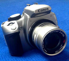 For CANON 5D 7D 70D T6 EOS mount : Carl Zeiss SONNAR 2.8 90mm T* Lens - MINT