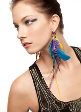 Juliet - Collection Single Feather Earring