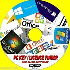 RETRIEVE YOUR PC SOFTWARE LICENCE KEYS WINDOWS 7 8 8.1 10 XP + ALL OFFICE NEW CD