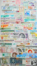 102 Different world paper money collection, UNC, new banknotes, all genuine