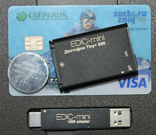 Edic mini tiny B80 150HQ spy bug audio voice recorder digital micro usb 150 hour