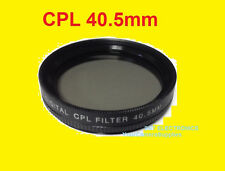 40.5 mm CPL CIRCULAR POLARIZED PL FILTER to Nikon 1 J1 V1 NIKKOR 10mm f/2.8