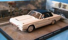 FORD THUNDERBIRD CABRIOLET CLOSED GOLDFINGER 1/43 JAMES BOND 007 UNIVERSAL HOBBI