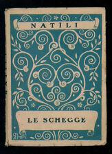 NATILI VIRGILIO LE SCHEGGE VARESE GIORNALE DI POESIA 1923 QUADERNO 2 I° EDIZ.