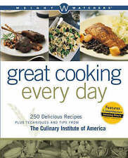Weight Watchers Great Cooking Every Day: 250 Delicious Recipes Plus-ExLibrary