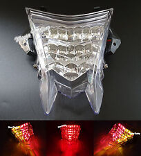 E-Marked Tail Brake Signal Integrated Led Light Clear For BMW S1000RR HP4 S1000R