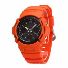 Casio G-Shock Rescue Orange Multiband 6 Men's Watch AWG-M100MR-4