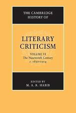 The Cambridge History of Literary Criticism: Volume 6, The Nineteenth Century, c
