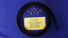 Federal Twinsonic Replacement Dome Rubber Seal and Screw Kit