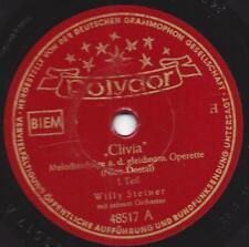 """Willy Steiner Künstler Orchester 1951 : Melodien aus der Operette  """"  Clivia """""""