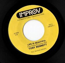 TONY BENETT - Improv - Life Is Beautiful / There'll Be Some Changes Made