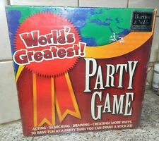 WORLD'S GREATEST PARTY GAME Barnes Noble DRAWING Charades SCAVENGER HUNT* New