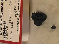 KYOSHO INFERNO VE, MP9e DBX 2 VE, DRXve, 16T PINION GEAR NEW IN PACKET, 97044-16