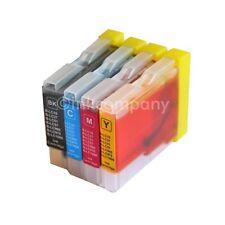 4 Drucker Tinte Patronen für Brother LC970 DCP130C DCP135C MFC230C MFC235C Set