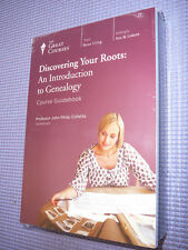Teaching Co Great Courses  DVDs      DISCOVERING YOUR ROOTS GENEALOGY      new