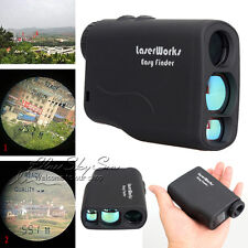 600M Laser Range Finder Outdoor Hunting Golf Distance Meter Speed Measurer