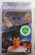 Yamato Video SUPER ATRAGON 1 Catastrofe: Ora Zero VHS NUOVO SIGILATO celophanato
