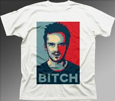 JESSE PINKMAN BITCH Breaking Bad OBAMA Crystal Meth printed t-shirt 9656