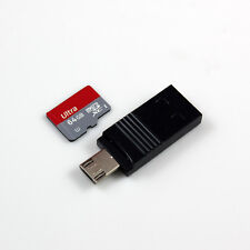 Micro SD /TF card USB OTG Reader Adapter 2 in 1 Up to 128GB For Smart Phone PC